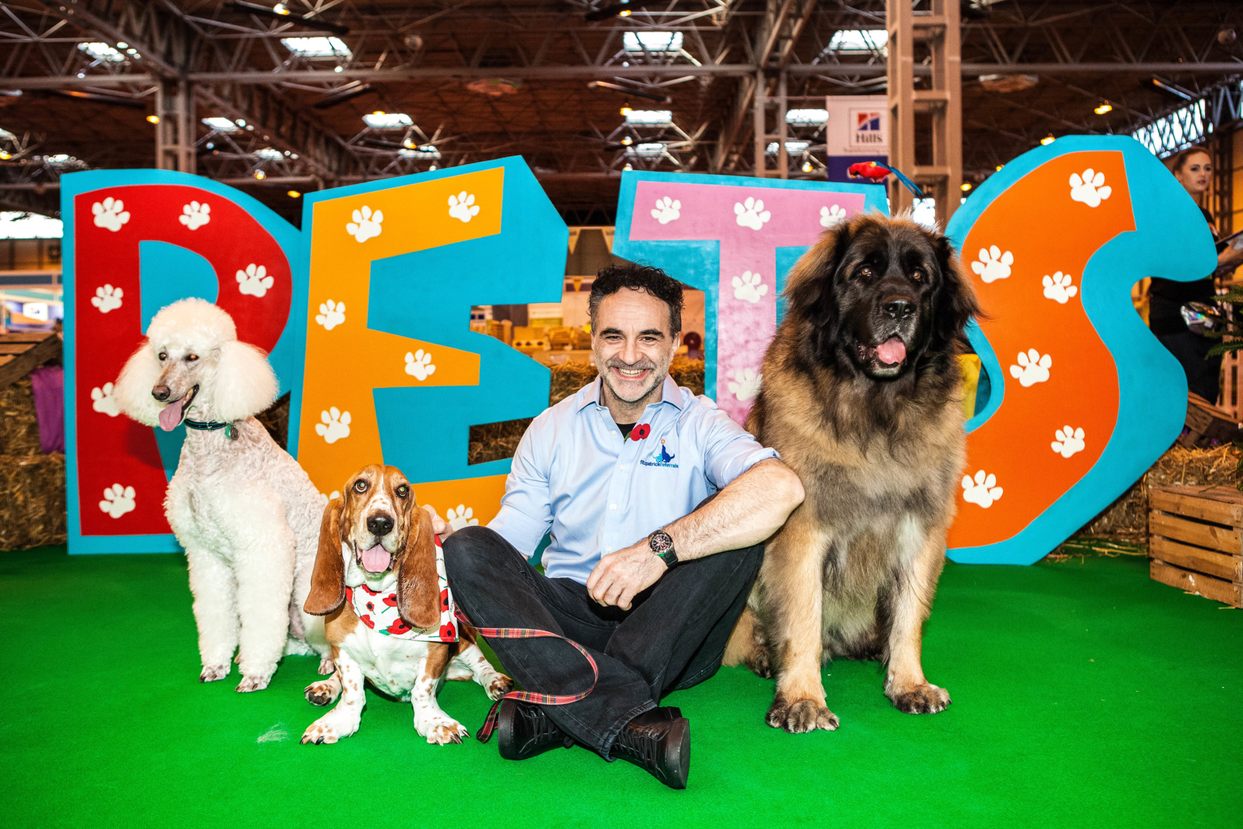 Noel Fitzpatrick at The National Pet Show in Birmingham