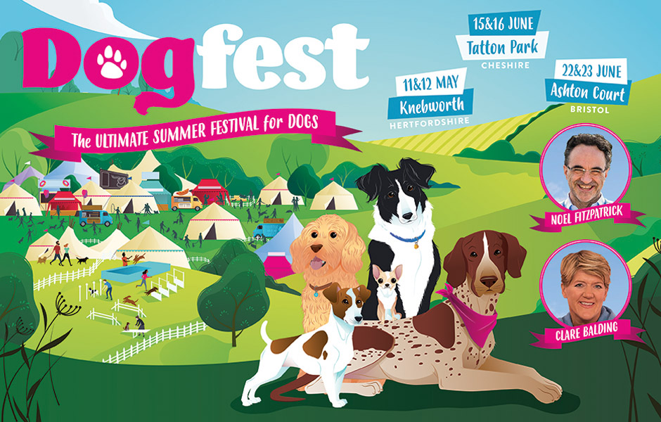 DogFest 2019 The Ultimate Festival for Dogs wth Noel Fitzpatrick and Clare Balding